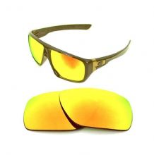 NEW POLARIZED CUSTOM FIRE RED LENS FOR OAKLEY DISPATCH SUNGLASSES